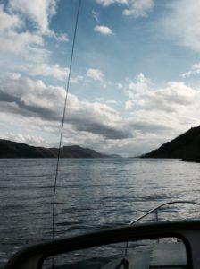 Dusk on Loch Ness