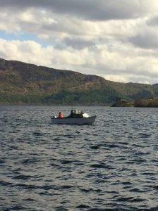 Fishing on Loch Ness